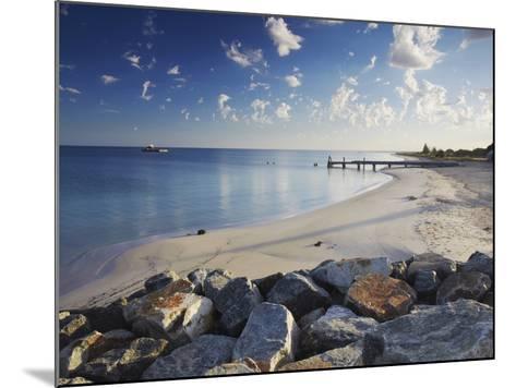 Busselton Beach at Dawn, Western Australia, Australia, Pacific-Ian Trower-Mounted Photographic Print
