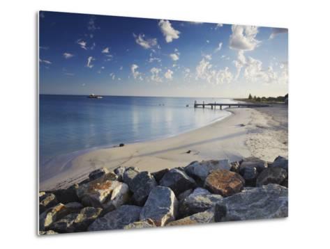 Busselton Beach at Dawn, Western Australia, Australia, Pacific-Ian Trower-Metal Print