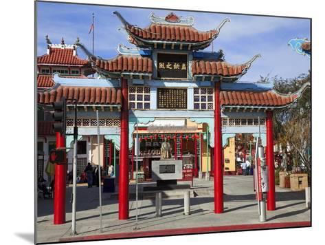 Central Plaza, Chinatown, Los Angeles, California, United States of America, North America-Richard Cummins-Mounted Photographic Print