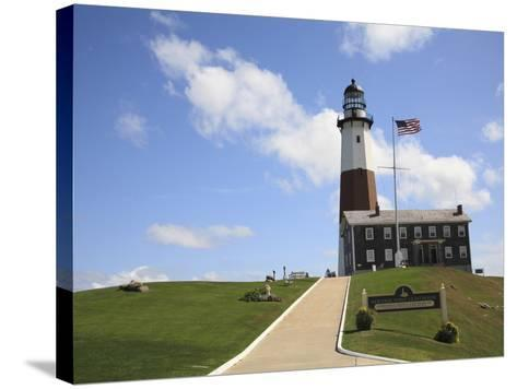 Montauk Point Lighthouse, Montauk, Long Island, New York, United States of America, North America-Wendy Connett-Stretched Canvas Print