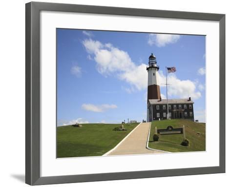 Montauk Point Lighthouse, Montauk, Long Island, New York, United States of America, North America-Wendy Connett-Framed Art Print