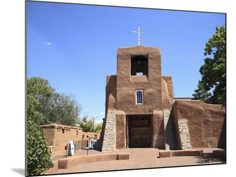San Miguel Mission Church, Oldest Church in the United States, Santa Fe, New Mexico-Wendy Connett-Mounted Photographic Print