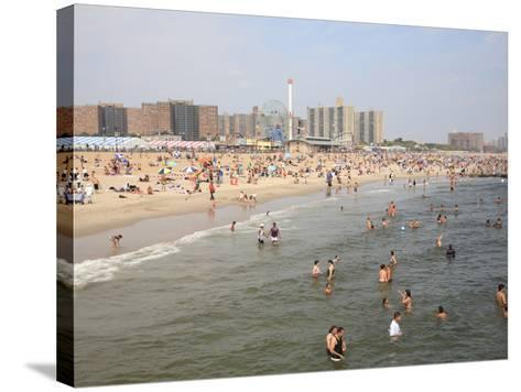 Coney Island, Brooklyn, New York City, United States of America, North America-Wendy Connett-Stretched Canvas Print