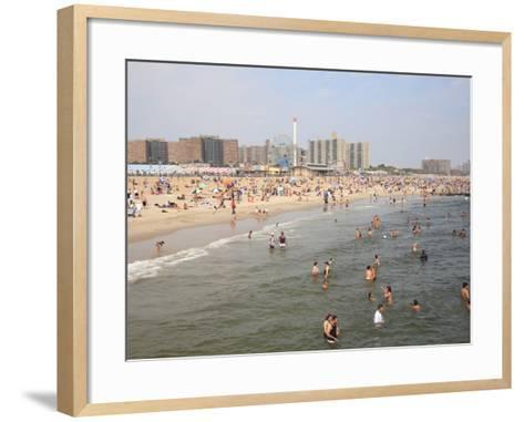 Coney Island, Brooklyn, New York City, United States of America, North America-Wendy Connett-Framed Art Print