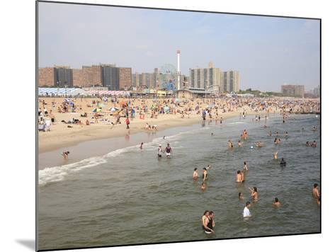 Coney Island, Brooklyn, New York City, United States of America, North America-Wendy Connett-Mounted Photographic Print