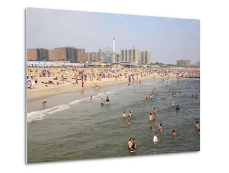 Coney Island, Brooklyn, New York City, United States of America, North America-Wendy Connett-Metal Print