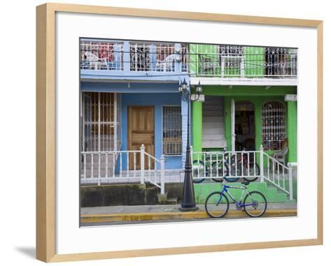 Calle Street in San Juan Del Sur, Department of Rivas, Nicaragua, Central America-Richard Cummins-Framed Art Print