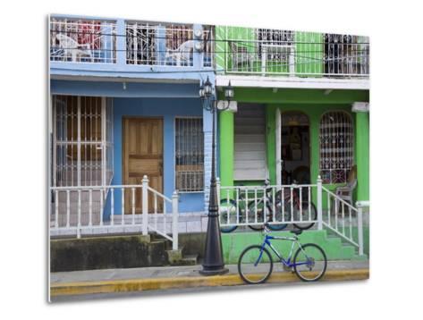 Calle Street in San Juan Del Sur, Department of Rivas, Nicaragua, Central America-Richard Cummins-Metal Print