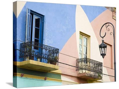Moussy Street La Boca District, Buenos Aires, Argentina, South America-Richard Cummins-Stretched Canvas Print
