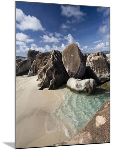 Large Eroded Granite Outcrops at the Baths in Virgin Gorda, British Virgin Islands, West Indies-Donald Nausbaum-Mounted Photographic Print
