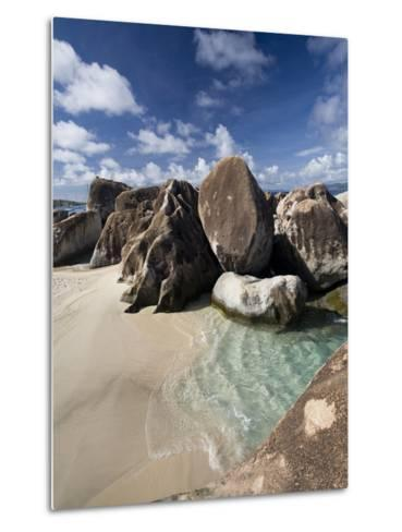 Large Eroded Granite Outcrops at the Baths in Virgin Gorda, British Virgin Islands, West Indies-Donald Nausbaum-Metal Print