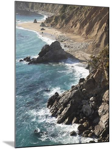Rocky Stretch of Coastline in Big Sur, California, United States of America, North America-Donald Nausbaum-Mounted Photographic Print