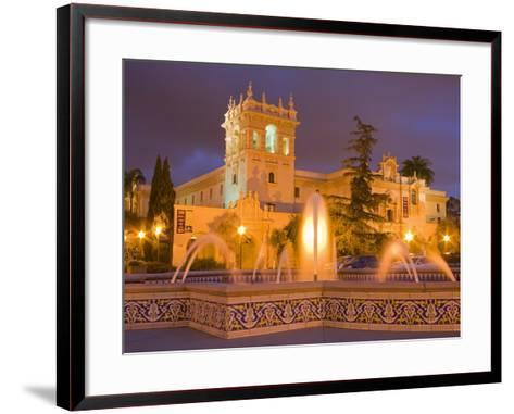 House of Hospitality in Balboa Park, San Diego, California, United States of America, North America-Richard Cummins-Framed Art Print