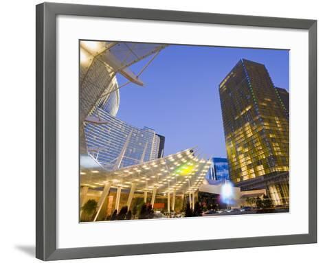 Aria Casino at Citycenter, Las Vegas, Nevada, United States of America, North America-Richard Cummins-Framed Art Print