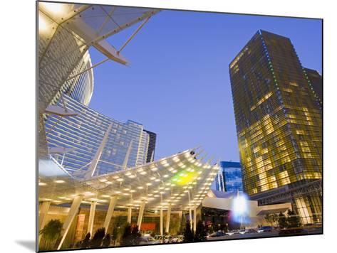 Aria Casino at Citycenter, Las Vegas, Nevada, United States of America, North America-Richard Cummins-Mounted Photographic Print