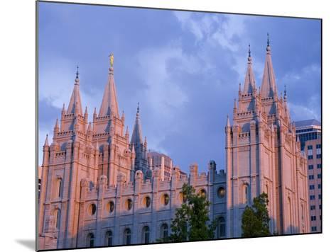 Mormon Temple in Temple Square, Salt Lake City, Utah, United States of America, North America-Richard Cummins-Mounted Photographic Print