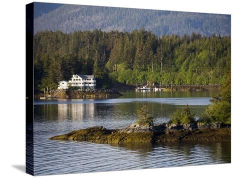 Sitka Sound, Sitka, Baranof Island, Southeast Alaska, United States of America, North America-Richard Cummins-Stretched Canvas Print