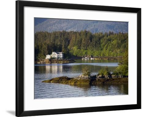 Sitka Sound, Sitka, Baranof Island, Southeast Alaska, United States of America, North America-Richard Cummins-Framed Art Print