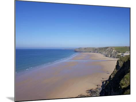 Watergate Bay, Newquay, Cornwall, England, United Kingdom, Europe-Jeremy Lightfoot-Mounted Photographic Print