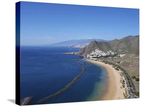 Las Teresitas, Tenerife, Canary Islands, Spain, Atlantic, Europe-Jeremy Lightfoot-Stretched Canvas Print
