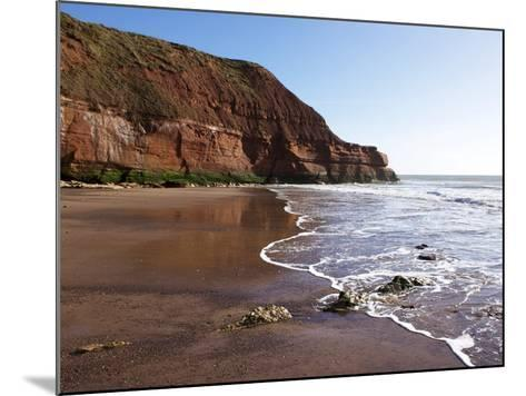 Exmouth Cliffs, Exmouth, Devon, England, United Kingdom, Europe-Jeremy Lightfoot-Mounted Photographic Print