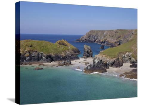 Kynance Cove, Cornwall, England, United Kingdom, Europe-Jeremy Lightfoot-Stretched Canvas Print