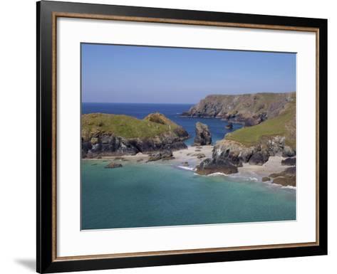 Kynance Cove, Cornwall, England, United Kingdom, Europe-Jeremy Lightfoot-Framed Art Print
