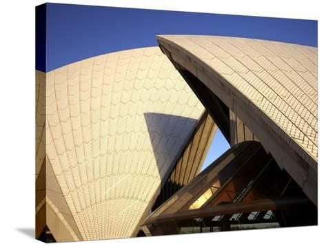 Sydney Opera House, UNESCO World Heritage Site, Sydney, New South Wales, Australia, Pacific-Mark Mawson-Stretched Canvas Print