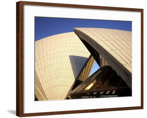 Sydney Opera House, UNESCO World Heritage Site, Sydney, New South Wales, Australia, Pacific-Mark Mawson-Framed Art Print