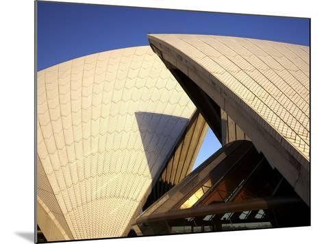 Sydney Opera House, UNESCO World Heritage Site, Sydney, New South Wales, Australia, Pacific-Mark Mawson-Mounted Photographic Print