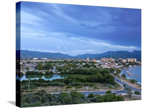 View of Juangriego, Isla De Margarita (Margarita Island), Nueva Esparta, Venezuela, South America-Jane Sweeney-Stretched Canvas Print