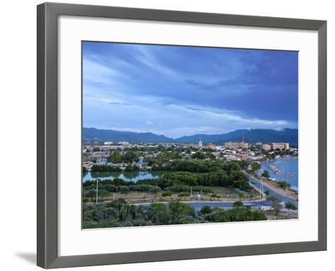View of Juangriego, Isla De Margarita (Margarita Island), Nueva Esparta, Venezuela, South America-Jane Sweeney-Framed Art Print