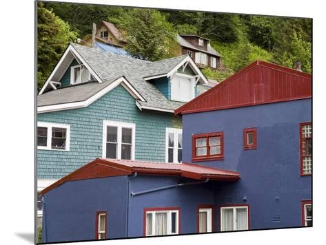 Houses in Juneau, Southeast Alaska, USA-Richard Cummins-Mounted Photographic Print