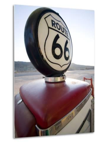 Gas Pump, Historic Route 66, Arizona, United States of America, North America-Colin Brynn-Metal Print