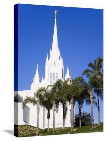 Mormon Temple in La Jolla, San Diego County, California, United States of America, North America-Richard Cummins-Stretched Canvas Print