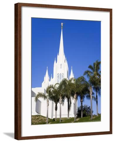Mormon Temple in La Jolla, San Diego County, California, United States of America, North America-Richard Cummins-Framed Art Print