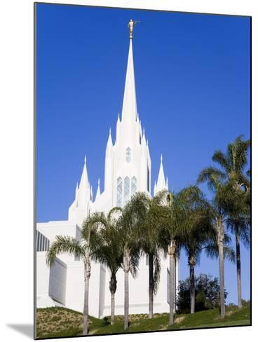 Mormon Temple in La Jolla, San Diego County, California, United States of America, North America-Richard Cummins-Mounted Photographic Print