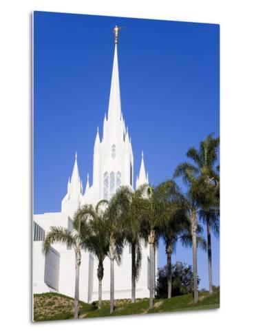 Mormon Temple in La Jolla, San Diego County, California, United States of America, North America-Richard Cummins-Metal Print