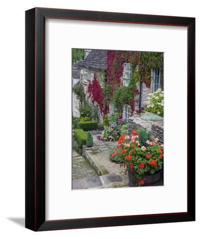 Cottage on Chipping Steps, Tetbury Town, Gloucestershire, Cotswolds, England, United Kingdom-Richard Cummins-Framed Art Print