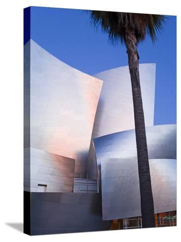 Walt Disney Concert Hall, Los Angeles, California, United States of America, North America-Richard Cummins-Stretched Canvas Print