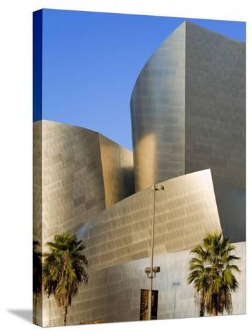 Walt Disney Concert Hall, Los Angeles, California, United States of America, North America-Richard Cummins-Stretched Canvas Print