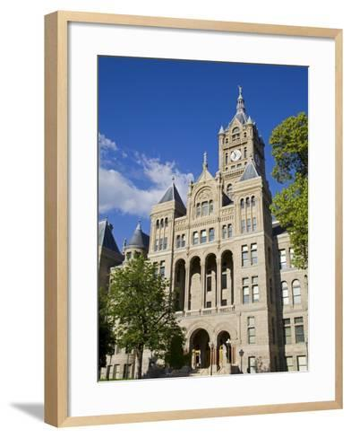 City and County Building, Salt Lake City, Utah, United States of America, North America-Richard Cummins-Framed Art Print