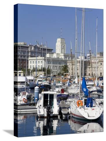 Yachts in Darsena Marina, La Coruna, Galicia, Spain, Europe-Richard Cummins-Stretched Canvas Print