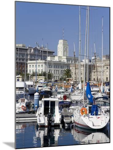 Yachts in Darsena Marina, La Coruna, Galicia, Spain, Europe-Richard Cummins-Mounted Photographic Print