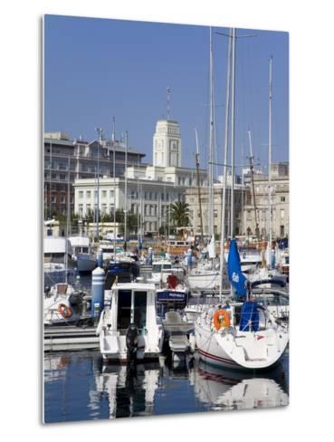 Yachts in Darsena Marina, La Coruna, Galicia, Spain, Europe-Richard Cummins-Metal Print