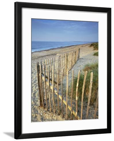 A Summer Morning on the Beach at Walberswick, Suffolk, England, United Kingdom, Europe-Jon Gibbs-Framed Art Print