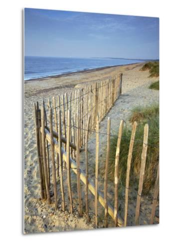 A Summer Morning on the Beach at Walberswick, Suffolk, England, United Kingdom, Europe-Jon Gibbs-Metal Print