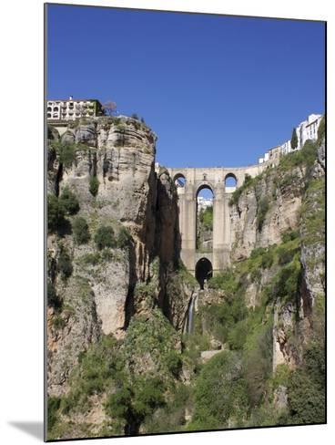Tajo Gorge and New Bridge, Ronda, Malaga Province, Andalucia, Spain, Europe-Jeremy Lightfoot-Mounted Photographic Print