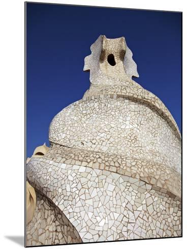 Casa Mila, Barcelona, Catalonia, Spain, Europe-Mark Mawson-Mounted Photographic Print