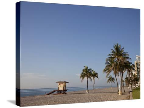 Hollywood Beach, Florida, USA-Angelo Cavalli-Stretched Canvas Print
